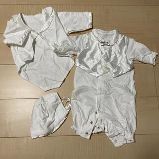 アカチャンホンポ(アカチャンホンポ)のベビー服 新生児 ベビードレス 50㎝ 60㎝(セレモニードレス/スーツ)