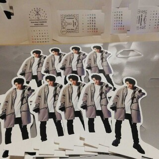 Johnny's - 深澤辰哉 9体 Snow  Man カレンダー カスタム 土台 ミニカレンダー