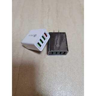USB アダプター 急速充電器 コンセント 4ポート