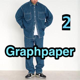 1LDK SELECT - Graphpaper Denim Regular Collar Shirt 2