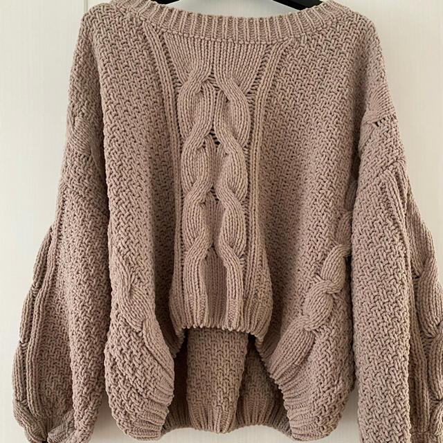GYDA(ジェイダ)のニットセーター レディースのトップス(ニット/セーター)の商品写真