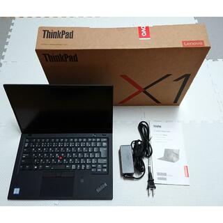 Lenovo - レノボ ノートパソコンThinkPad X1 Carbon 6th 未使用に近い