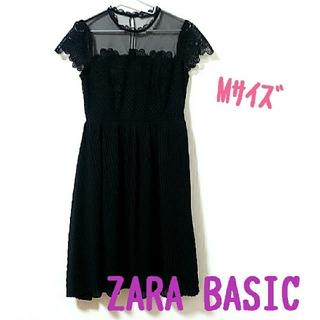 ZARA - ZARA BASIC 半袖ワンピース