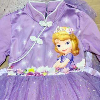 Disney - 美品!チャイナドレス風ワンピース小さなプリンセスソフィアドレス