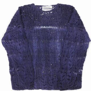 Tie-dye Flower Pattern Hand Knitting