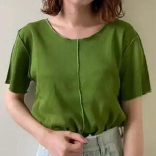 Kastane - 新品 kastane カスタネ パイピングTシャツ 半袖 Tシャツ カットソー