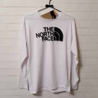 THE NORTH FACE - 【新品】THE NORTH FACE L/S Big Logo Tee L 白
