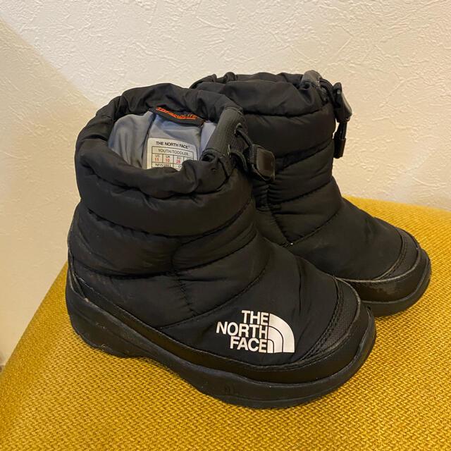 THE NORTH FACE(ザノースフェイス)のノースフェイス ヌプシ スノーブーツ 17cm キッズ/ベビー/マタニティのキッズ靴/シューズ(15cm~)(ブーツ)の商品写真