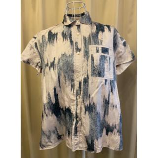 アクネ(ACNE)のACNE STUDIOS シルクプリントシャツ32(シャツ/ブラウス(半袖/袖なし))