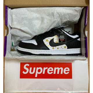 Supreme - Supreme Nike SB Dunk Low 27cm 黒 店舗購入品