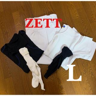 ZETT - 野球 ユニフォーム 練習着 5点
