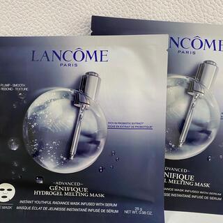 ランコム(LANCOME)のランコム☆ハイドロジェル メルティングマスク 2枚(パック/フェイスマスク)