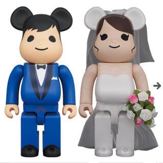 MEDICOM TOY - BE@RBRICK グリーティング結婚 4 PLUS 400%&100%セット