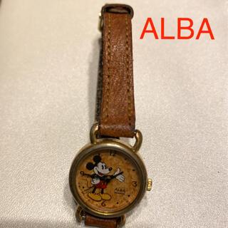 アルバ(ALBA)のアルバ ALBA クォーツ ミッキー 腕時計(腕時計)