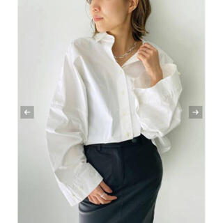 L'Appartement DEUXIEME CLASSE - L'Appartement  GENTLEWOMAN SHIRT  ホワイト