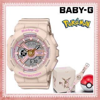 ベビージー(Baby-G)のCASIO BABY-G ピカチュウ BA-110PKC-4AJR ベビージー(腕時計)