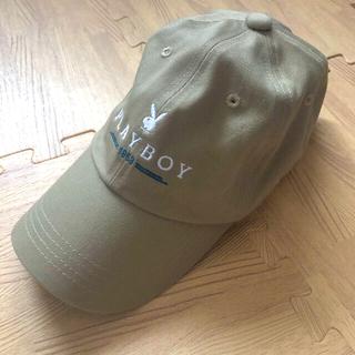プレイボーイ(PLAYBOY)のPLAYBOY帽子(キャップ)