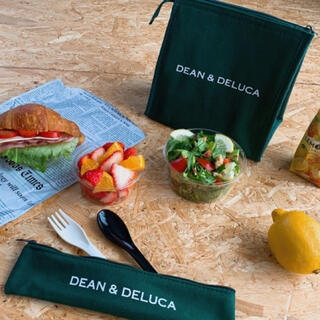 DEAN & DELUCA - ディーン&デルーカ 保冷ランチバッグ&カトラリーポーチ