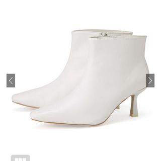 Dr.Martens - ショートブーツ 白 ホワイト 新品未使用 ブーツ