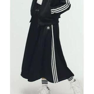 adidas - ★アディダス スカート 黒  9900円  L