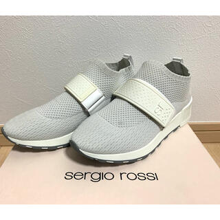 Sergio Rossi - 美品 sergio rossi セルジオロッシ sr1スニーカー a84370