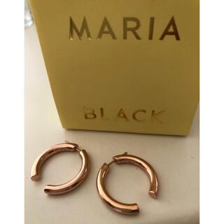 アパルトモンドゥーズィエムクラス(L'Appartement DEUXIEME CLASSE)の【美品】MARIA BLACK broken25(ピアス)