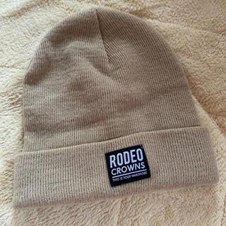 ロデオクラウンズ(RODEO CROWNS)のニット帽(ニット帽/ビーニー)