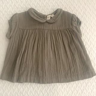 コドモビームス(こども ビームス)のlittle cotton clothes ブラウス 3-4y(ブラウス)