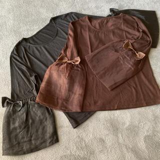専用🌸未使用保管🌸トップス  セット(Tシャツ(長袖/七分))
