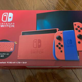 Nintendo Switch - マリオカラー 任天堂 NINTENDO SWITCH スイッチ 新品未使用