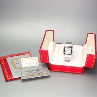 Cartier - 国際永久保証書 カルティエ Cartier Galbee サントス ガルベ LM