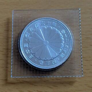 天皇御在位60年記念硬貨1万円 送料無料