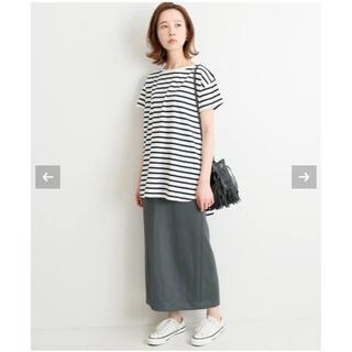 イエナ(IENA)のIENA  イエナ  ハイゲージコットンTシャツ(Tシャツ(半袖/袖なし))