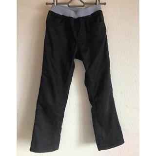 西松屋 - 黒 裏起毛ズボン 130