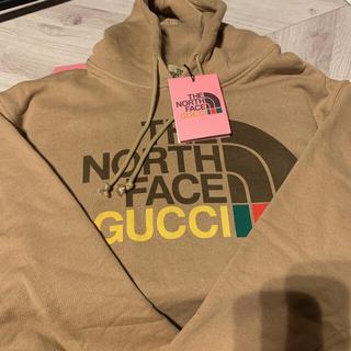Gucci - ☆新品未使用タグ付き☆ GUCCI North Face パーカー