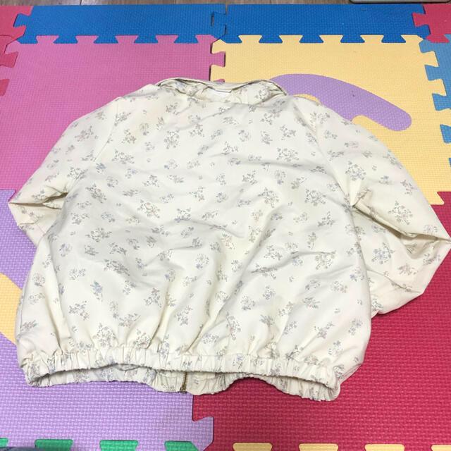 futafuta(フタフタ)のママラク 美品ウィンドブレーカー 110 ⭐️100から着れます キッズ/ベビー/マタニティのキッズ服女の子用(90cm~)(ジャケット/上着)の商品写真