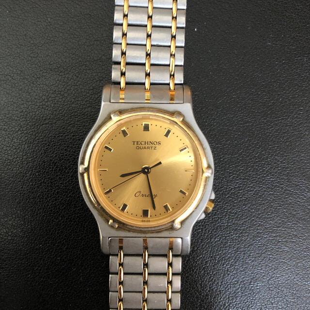 TECHNOS(テクノス)の【美品】メンズ 腕時計 ビジネス メンズの時計(腕時計(アナログ))の商品写真