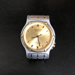 TECHNOS - 【美品】メンズ 腕時計 ビジネス