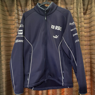 プーマ(PUMA)のチーム支給品 ウィリアムズF1 2007年トラックジャケット(その他)
