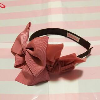 Shirley Temple - シャーリーテンプル リボン カチューシャ ピンク