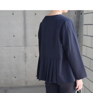 ENFOLD - 【新品・未使用】eLLa accodion blouse ブラック