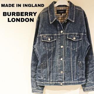 BURBERRY - イングランド製 BURBERRY バーバリー デニムジャケット Lサイズ