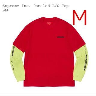 Supreme - Supreme Inc. Paneled L/S Top RED