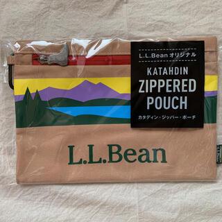 エルエルビーン(L.L.Bean)の新品 未開封 L.L.Bean カタディン ジッパー ポーチ(ノベルティグッズ)
