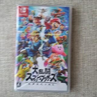 ニンテンドースイッチ(Nintendo Switch)の新品   大乱闘スマッシュブラザーズ(家庭用ゲームソフト)