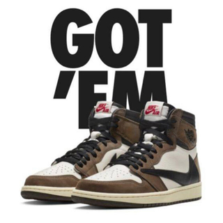 NIKE - AIR JORDAN1 HIGH OG TS SP Travis Scott