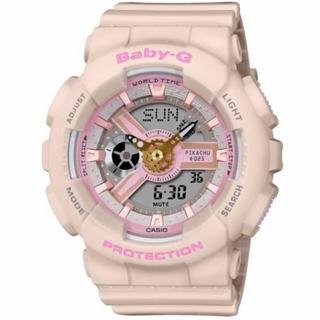 ベビージー(Baby-G)のピカチュウコラボレーションBABY-G BA-110PKC-4AJR 国内正規品(腕時計)
