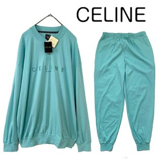 celine - 【新品】celine セリーヌ ロゴ刺繍 セットアップ 上下セット スウェット