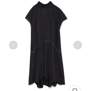 ファーファー(fur fur)のFURFUR カットペタル ワンピース ドレス 美品☺︎︎゛(ひざ丈ワンピース)