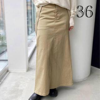 アパルトモンドゥーズィエムクラス(L'Appartement DEUXIEME CLASSE)の【L'Appartement 】GOOD GRIEF Chino Skirt (ロングスカート)